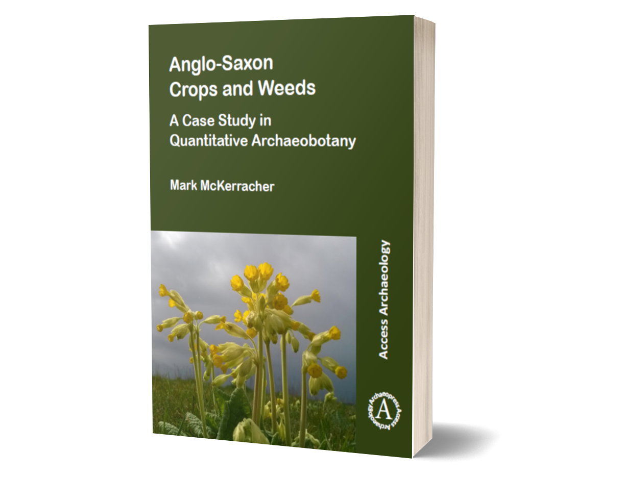 Anglo-Saxon Crops and Weeds front cover